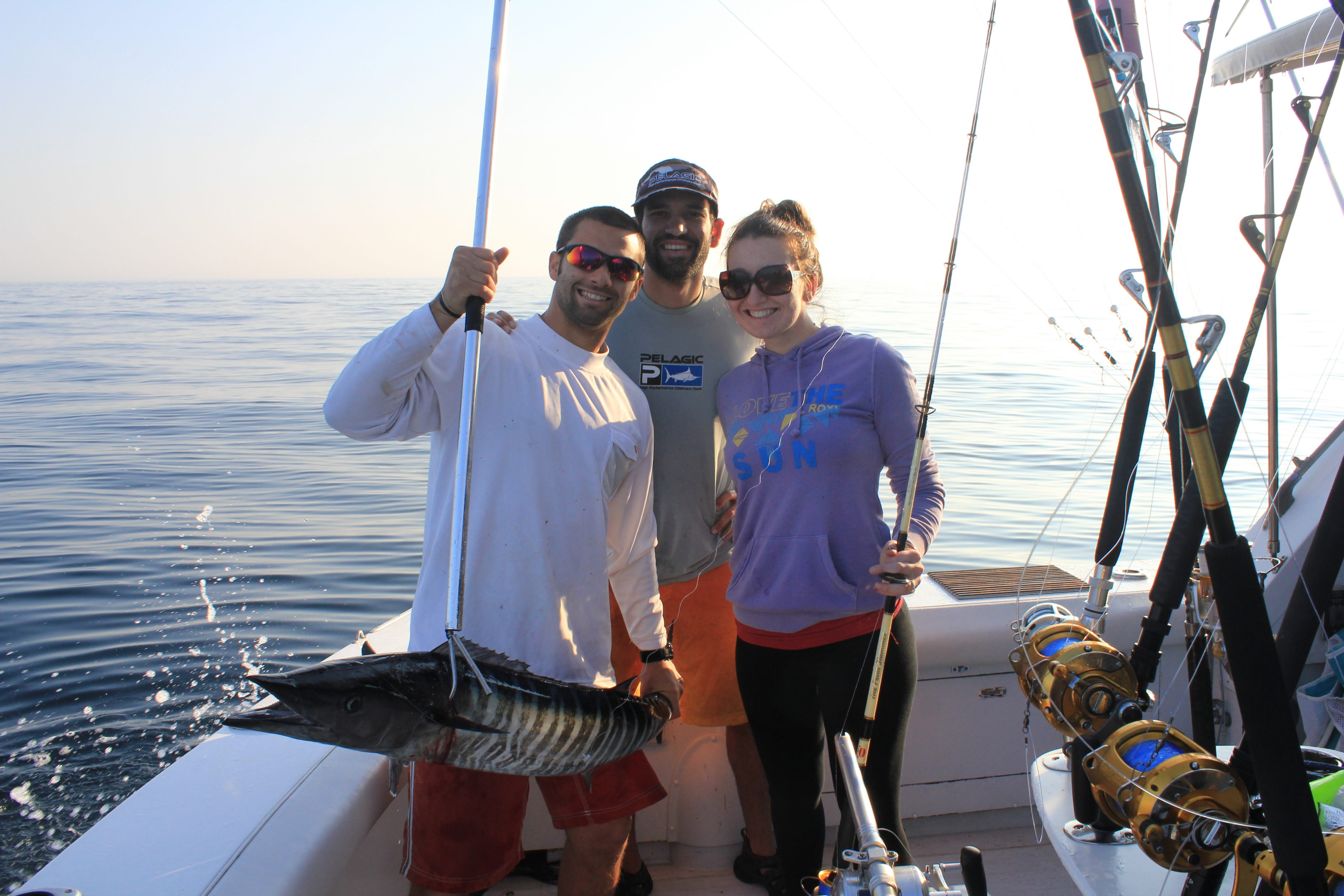 Maximum Gusto Sportfishing Wahoo