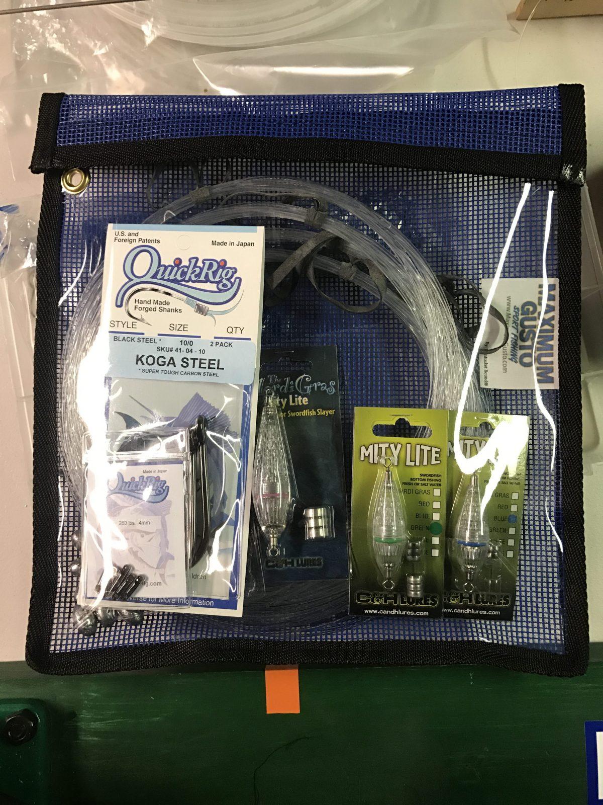 Swordfish Rigging Kit